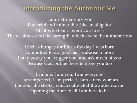 Introducing the Authentic Me
